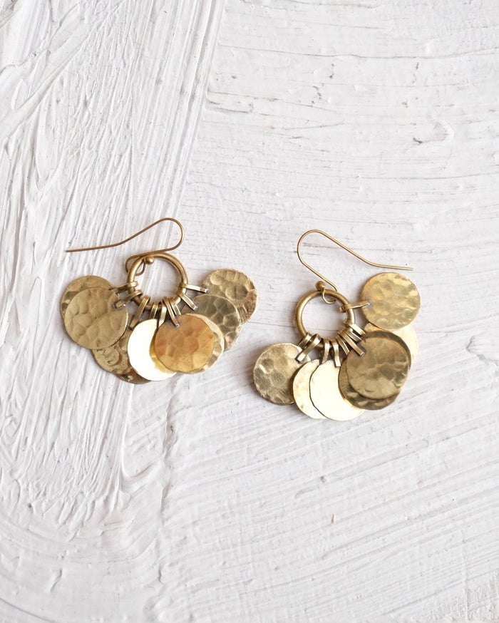 Floos Cluster Earrings - Nous Wanderlust Stories