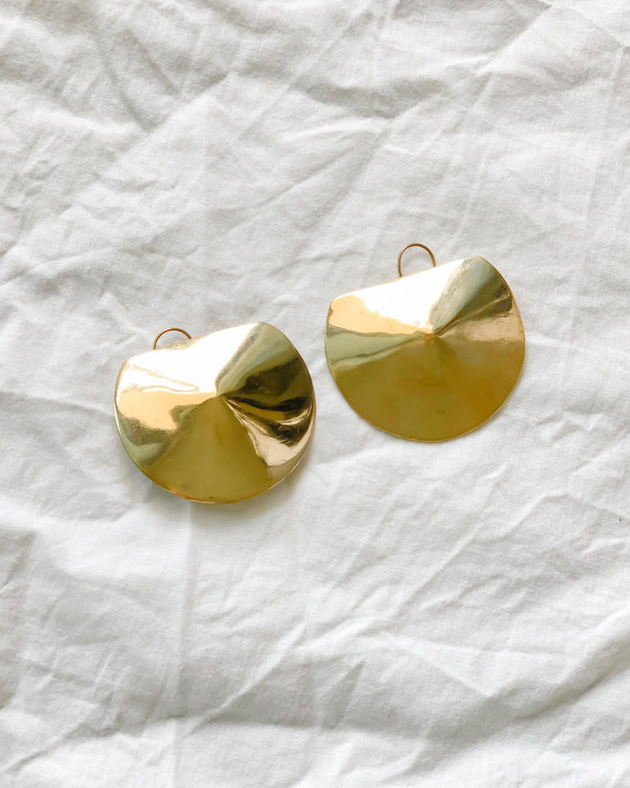 Kamah Oversize Earrings - Nous Wanderlust Stories