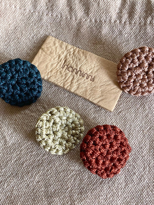 Fefara Crochet Stud Earrings - Clay - Nous Wanderlust Stories