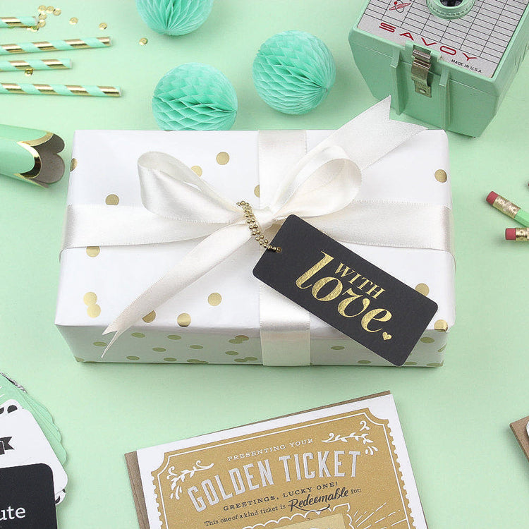 'With Love' Gift Tag - Nous Wanderlust Stories