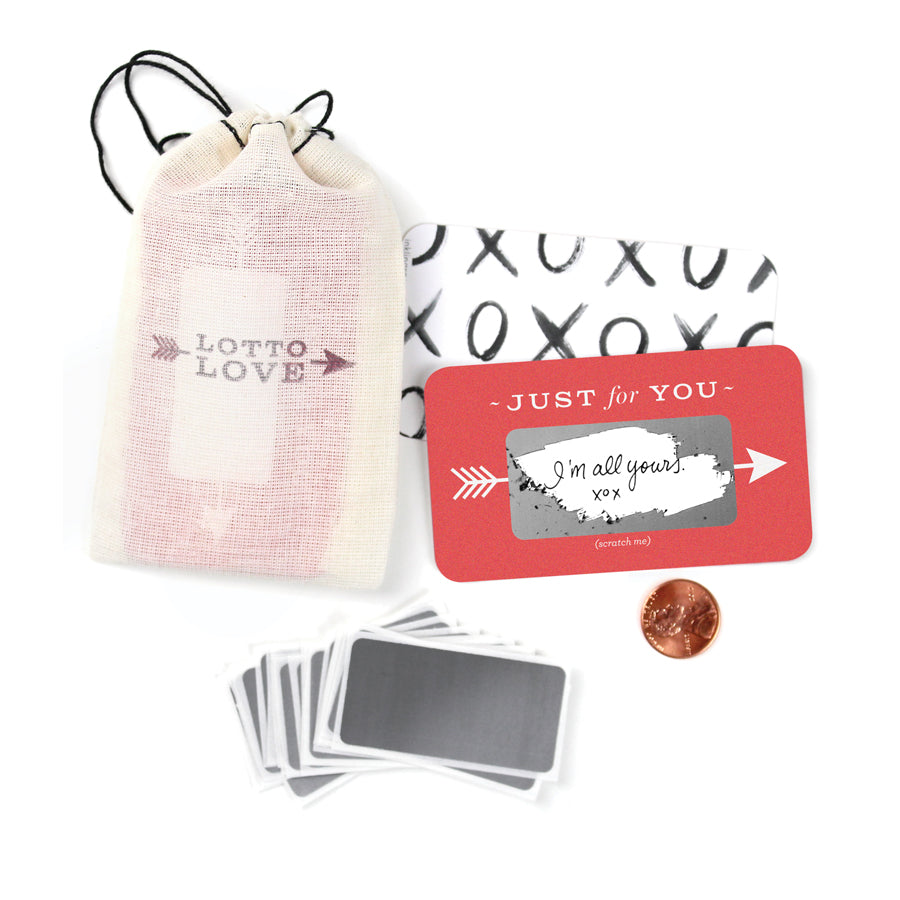 Lotto Love Scratch-Off 'Love' Notes - Nous Wanderlust Stories