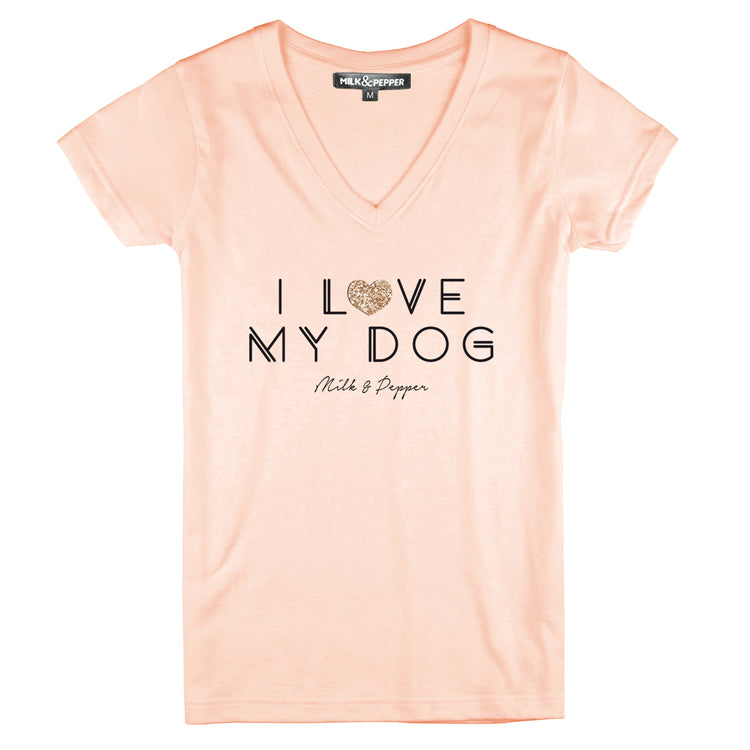 I Luv My Dog Tee - Matching Human Shirt - Nous Wanderlust Stories