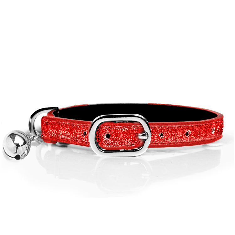 Red Stardust Cat Collar - Nous Wanderlust Stories