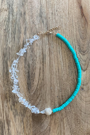 Cluster Choker Necklace - Turquoise - Nous Wanderlust Stories