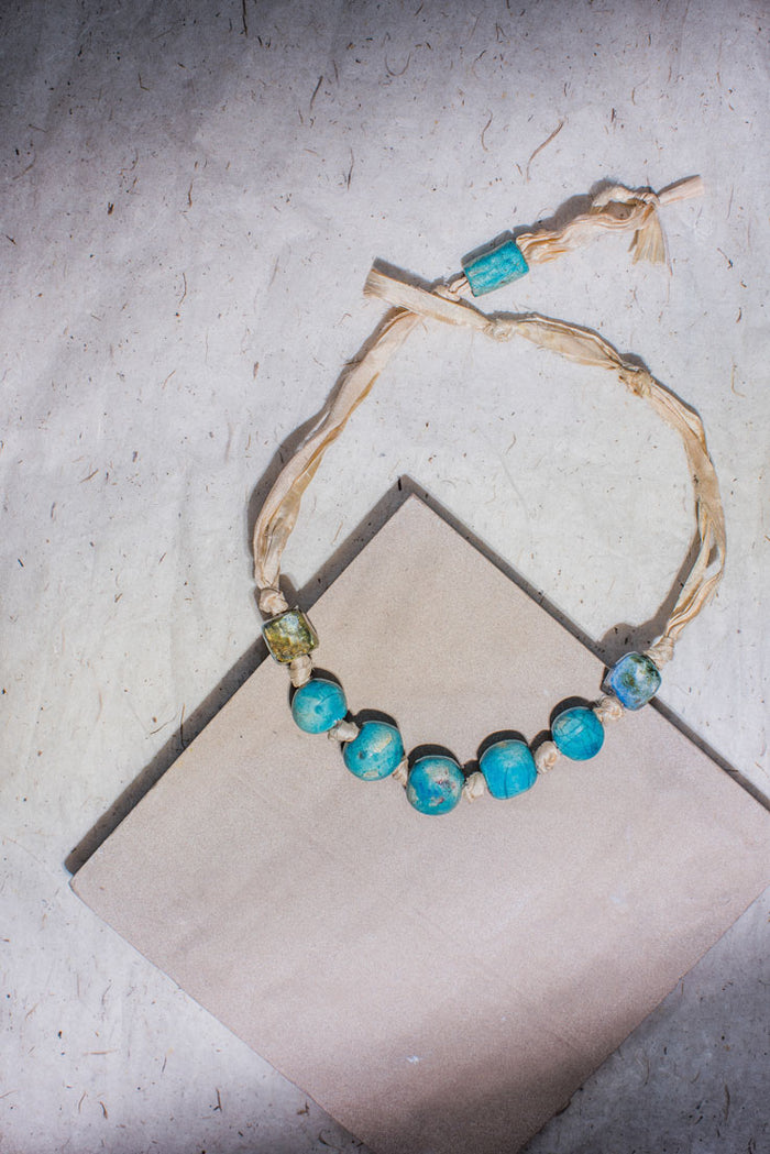 Majime Ceramic Necklace - Nous Wanderlust Stories