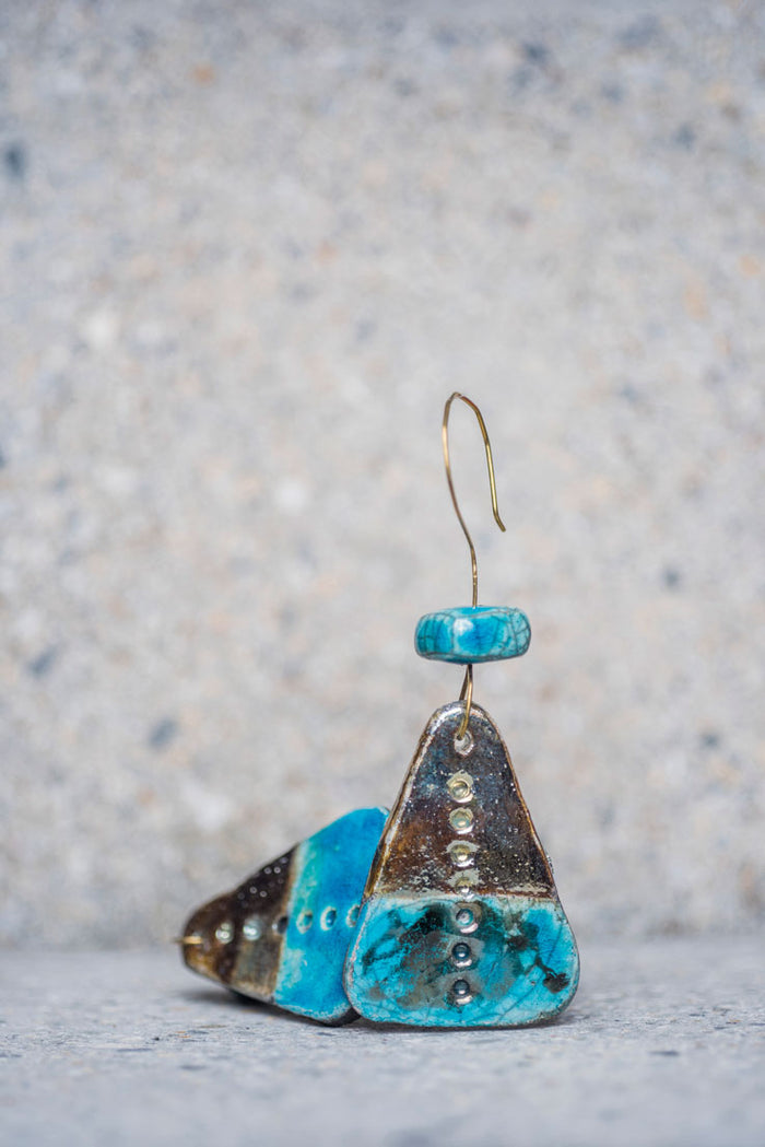 Vagary Ceramic Earrings - Nous Wanderlust Stories