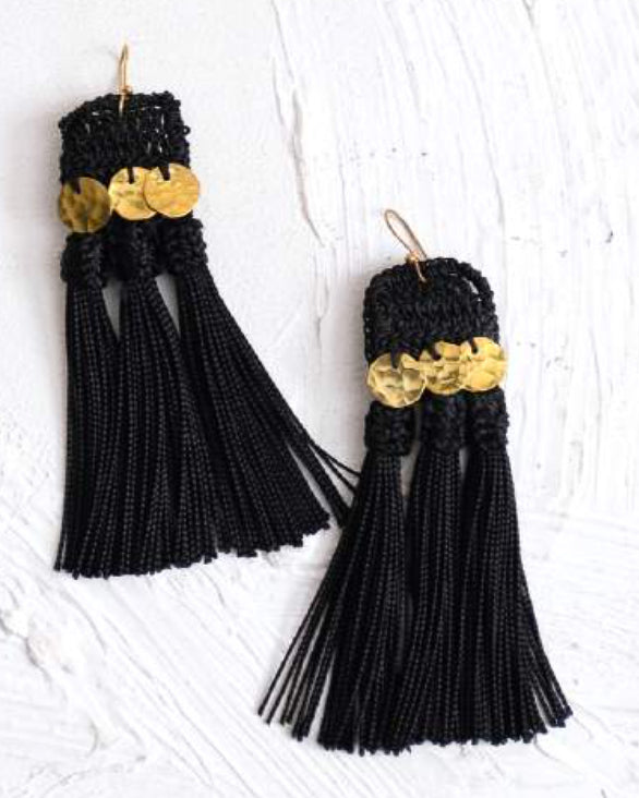 Handira Fringe Earrings - Nous Wanderlust Stories