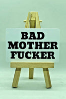 Bad Motherf***er Card $2.99 - Buy 2 get 1 FREE! Free Shipping
