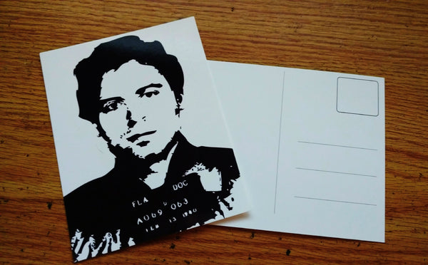 Ted Bundy Post Card $1.99 FREE SHIPPING