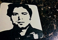 Ted Bundy Beer Coaster $2.99 FREE SHIPPING