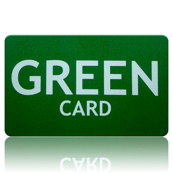 Green Card - Free Shipping!