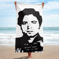 Ted Bundy Beach Towel $36.99 FREE SHIPPING