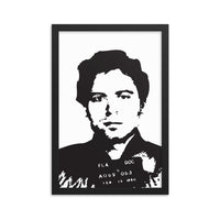 Serial Killer Ted Bundy Framed poster FREE SHIPPING