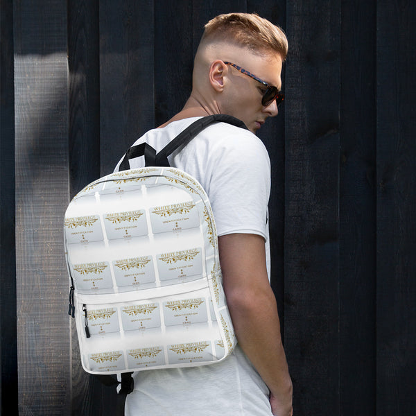 """White Privilege"" Backpack"