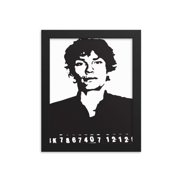"Richard Ramirez ""The Nightstalker"" Framed poster FREE S&H"