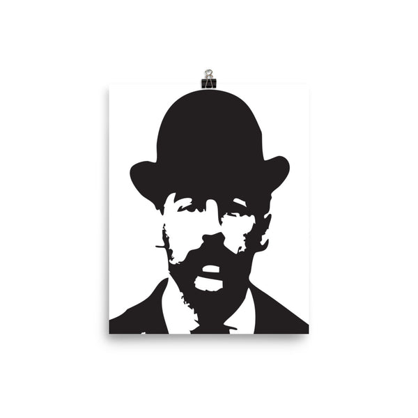 Serial Killer H.H. Holmes Photo paper poster FREE SHIPPING