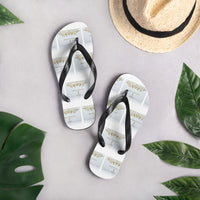 """White Privilege"" Flip-Flops - Free Shipping - Comes with 6 White Privilege Cards FREE"