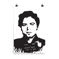 Ted Bundy Photo paper poster FREE SHIPPING