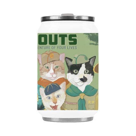 Cat Scouts Stainless Steel Vacuum Mug (10.3OZ)