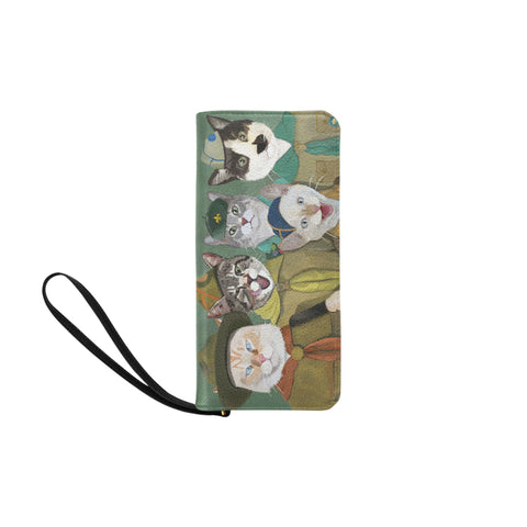 Cat Scouts Wallet Women's Clutch Purse