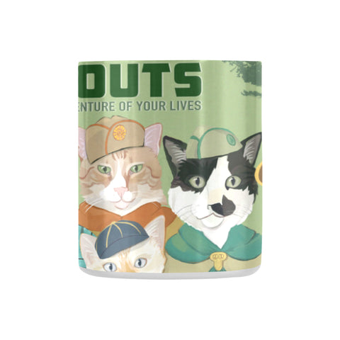 Cat Scouts Classic Insulated Mug(10.3OZ)