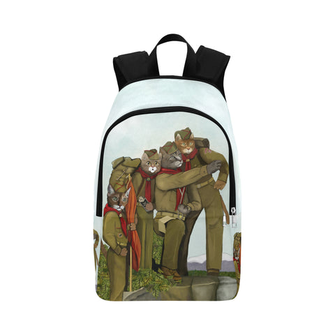 Are You PURRpared for Adventure? Fabric Adult Backpack
