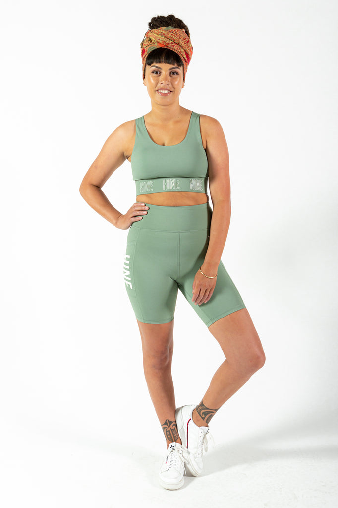2.0 BIKE SHORTS SEA GREEN