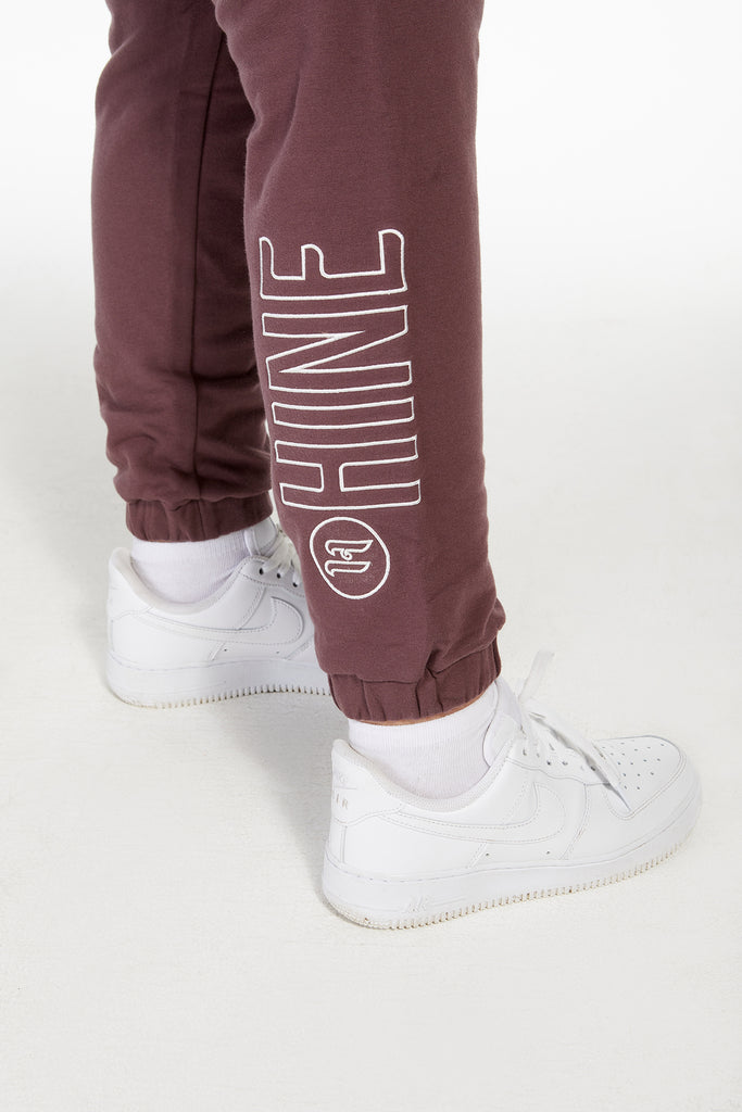 2.0 TRACKPANTS DEEP MAUVE