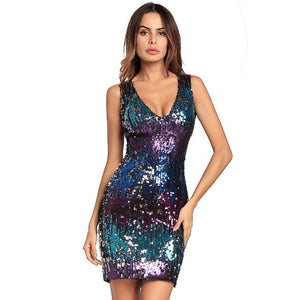 Fashion Bling Party Dress