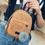 Fashion Cute Leather small backpacks for Teenage Girls