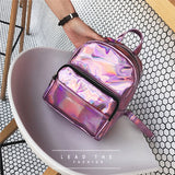 Chic Holographic Backpack For Girls