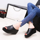 Women Summer Fashion Leisure Fish Mouth Sandals