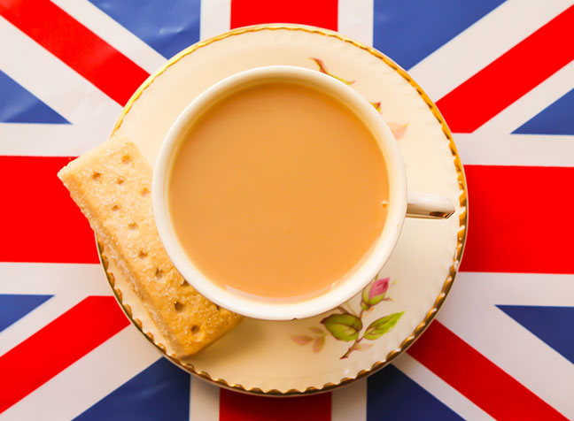 How tea was introduced to Britain