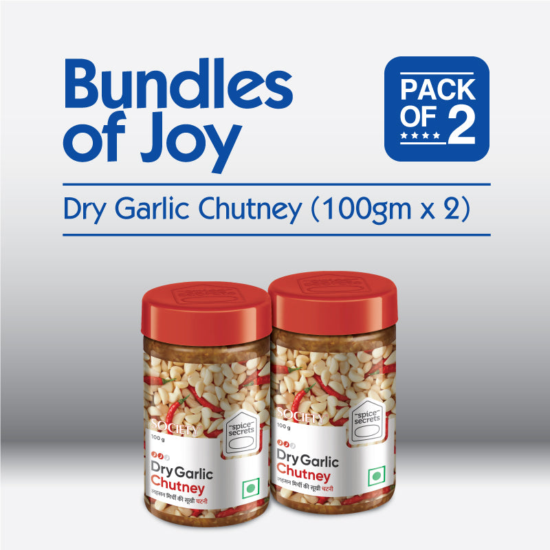 Bundle-of-joy-Dry-Garlic-Chutney (100g x 2)