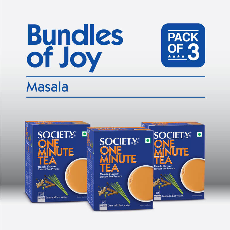 Society One Minute Masala Instant Tea Premix