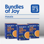 Society One Minute Masala Instant Tea Premix (3p)