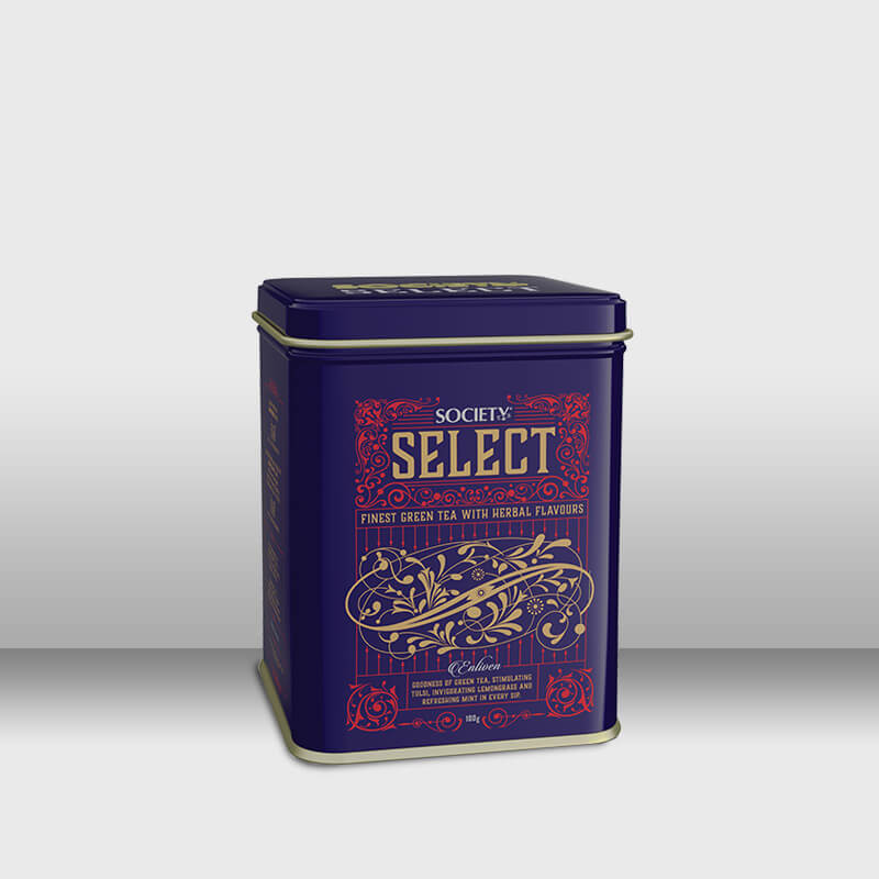 Society Select Herbal Tea 100 g Tin