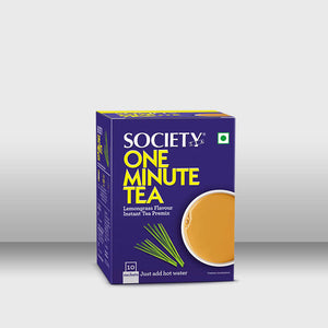 Society One Minute Tea - Lemongrass (14 g x 10 Sachets), (1 Kg Pouch)
