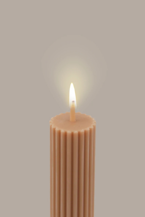 Pillar candle - Peach