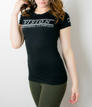 Women's Lifestyle Tee- Black