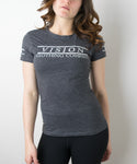 Women's Lifestyle Tee- Charcoal