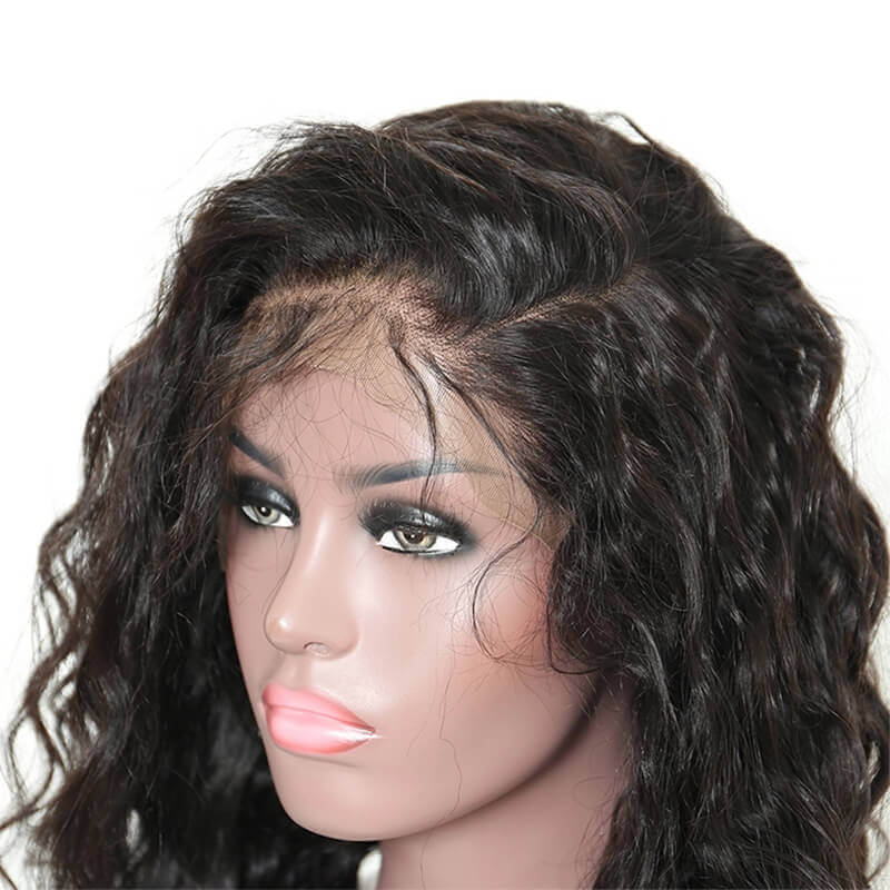 Loose Wave 13x6 Lace Front Human Hair Wig Pre Plucked With Baby Hair For women