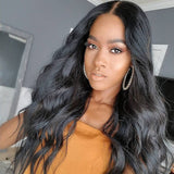[Abyhair 9A] 360 lace Frontal Closure With 2 Bundles Peruvian Body Wave Hair Weave