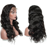 Body Wave 360 Lace Frontal Wig 150% Density Lace Front Human Hair Wigs