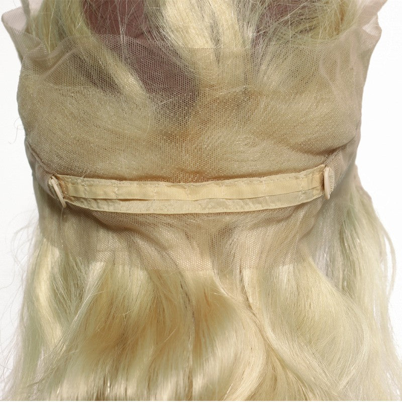 10A Virgin 613 Blonde Body Wave 360 Lace Frontal Closure With Baby Hair