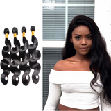 [Abyhair 9A] 4 Bundles Indian Body Wave Hair Weft Human Hair Weave