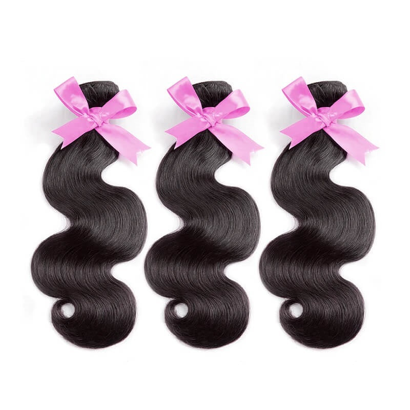 [Abyhair 10A] Brazilian Body Wave Hair 3 Bundles 100% Human Hair Weave Extensions