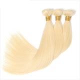 10A 613 Blonde Brazilian Straight 360 lace Frontal With 3 Bundles Virgin Human Hair Weave