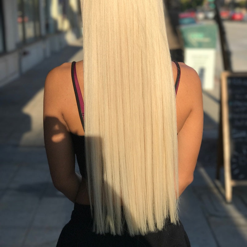 10A Virgin 613 Blonde Brazilian Straight Hair 4 Bundles Human Hair Extensions