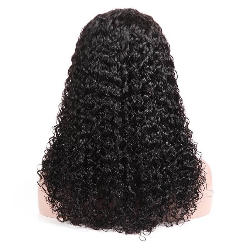 13x4 Deep Curly Lace Front Human Hair Wigs Pre Plucked With Baby Hair For Women